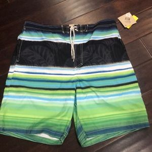 Paradise Collection swim trunks NWT